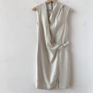 Helmut Lang white dress